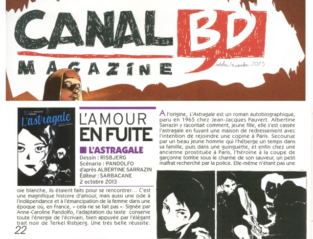 astragale-Canal BD