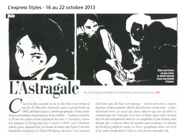 astragale-express styles