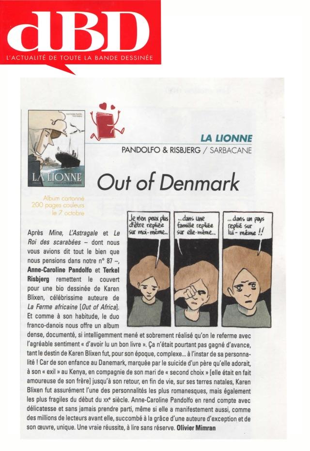 La Lionne - dBD