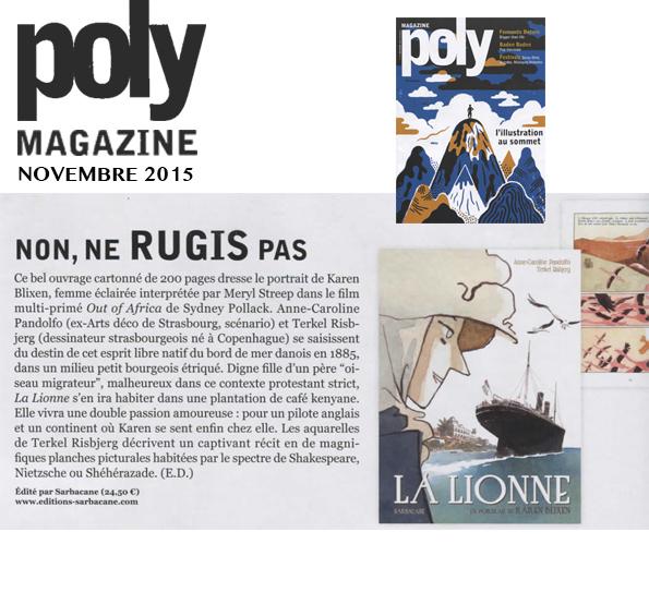 Lionne (la) - Poly